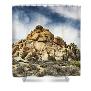 Dome Rock - Joshua Tree National Park Shower Curtain