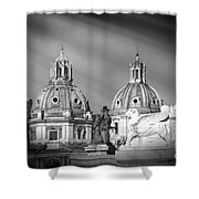 Domes Shower Curtain by Stefano Senise