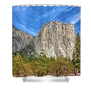 Dominating Presence Shower Curtain