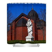 Dominican Sisters Jesus And Mary Shower Curtain