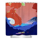 Dominican Sunset Shower Curtain
