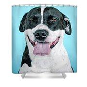 Domino 9 Shower Curtain