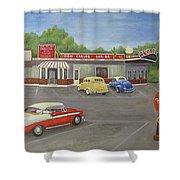 Don Carlos Drive Inn Shower Curtain