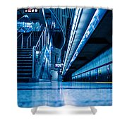 Don Mill Blue Shower Curtain