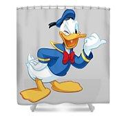Donald Duck Shower Curtain