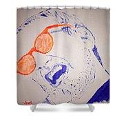 Donald Fagen Shower Curtain