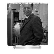 Donald Glaser, American Physicist Shower Curtain