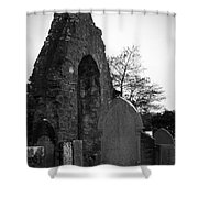 Donegal Abbey Ruins Donegal Ireland Shower Curtain