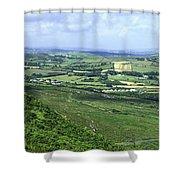Donegal Patchwork Farmland Shower Curtain