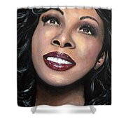 Donna Summer Shower Curtain by Tom Carlton