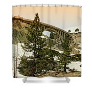 Donner Shower Curtain