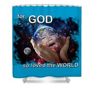 Don't Cry Little Earth Shower Curtain