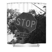 Don't Stop Believing  Shower Curtain