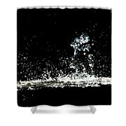 Don't Threaten Me With Love. Shower Curtain