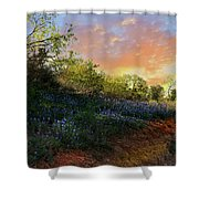 Donup Road Shower Curtain