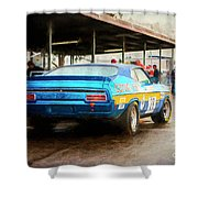 Donvovan Xc Falcon Shower Curtain