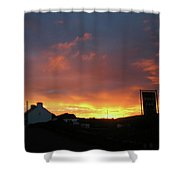 Doolin Co Clare Ireland Shower Curtain