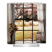 Doomesday Silence Shower Curtain