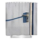 Door Entrance Shower Curtain