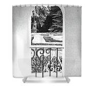Door In The Labirinth Shower Curtain