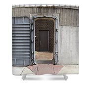 Door In The Richmond Floodwall Shower Curtain
