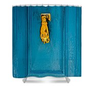 Door Knobs Of The World 40 Shower Curtain
