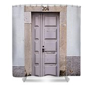 Door No 204 Shower Curtain