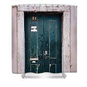 Door No 21 Shower Curtain