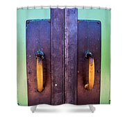 Door No. 3 Shower Curtain