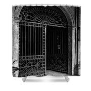 Door Of The Cabildo Shower Curtain