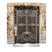 Door - Seville Spain Shower Curtain