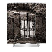 Door To Eternity Shower Curtain