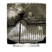 Door To Heaven Shower Curtain