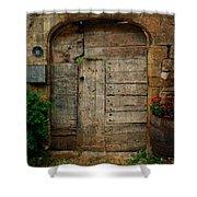 Door To The Secret Garden Shower Curtain