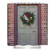 Doors Of Williamsburg 106 Shower Curtain