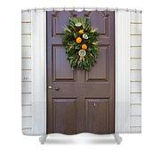 Doors Of Williamsburg 107 Shower Curtain
