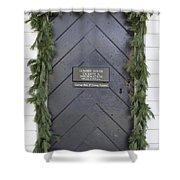 Doors Of Williamsburg 49 Shower Curtain