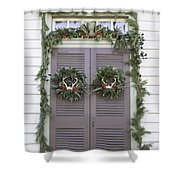 Doors Of Williamsburg 52 Shower Curtain