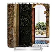 Doors To All Nations Shower Curtain