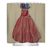 Doorstop Doll Shower Curtain