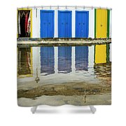 Doorways In Paraty  Shower Curtain