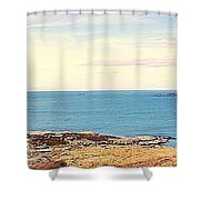 Dooy Rossguile ,donegal ,ireland  Shower Curtain