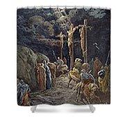 Crucifixion Shower Curtain