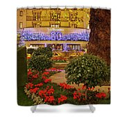 Dorchester Hotel London At Christmas Shower Curtain