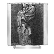Dore: Homeless, C1869 Shower Curtain by Granger