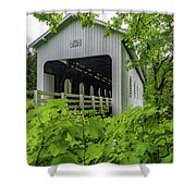 Dorena Bridge Shower Curtain