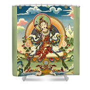Dorje Yudronma Shower Curtain