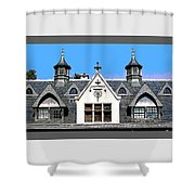 Dormers Design 6 Shower Curtain