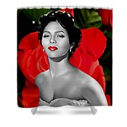 Dorothy Dandridge Shower Curtain