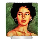 Dorothy Dandridge, Vintage Hollywood Legend Shower Curtain